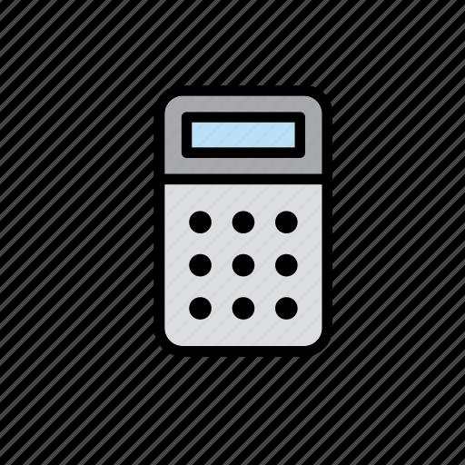 calculator, education, school icon