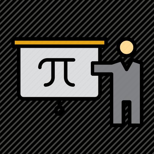 blackboard, class, college, education, school, teacher, university icon