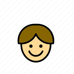 boy, education, kid, people, school, smile, smiling icon