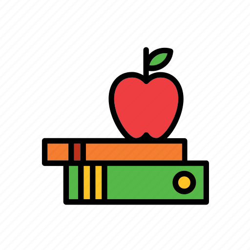 apple, books, college, education, faculty, school, university icon