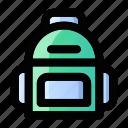 backpack, backpacker, bag, education, rucksack, school, student