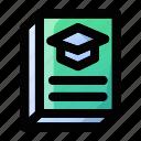 book, education, graduate, graduation, knowledge, school, study