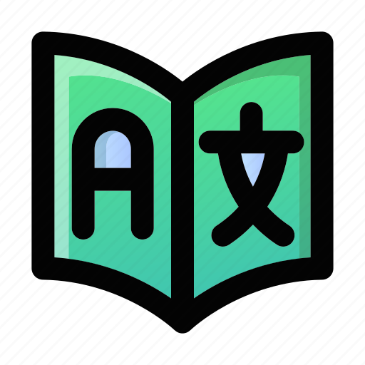 Dictionary, education, language, school, translate, translation, translator icon - Download on Iconfinder