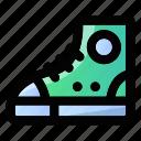 chucks, education, footwear, school, shoe, shoes, sneakers icon