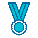 award, champion, medal, winner icon