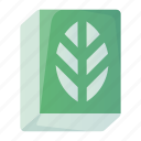 biology, book, botany, education, plant, school, science icon