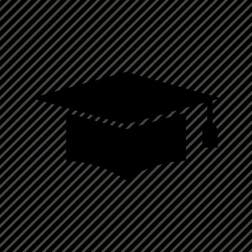 degree, graduation, graduation cap, mortar board, student, university icon