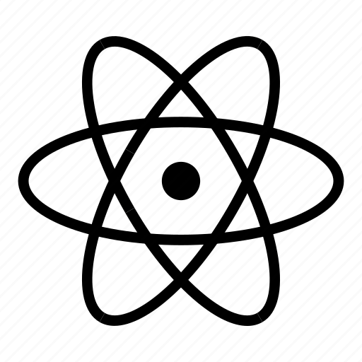 atom, atomic, chemistry, nuclear, physics, science icon