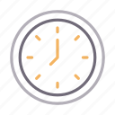 clock, schedule, school, time, watch icon