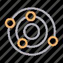 astronomy, planet, radar, space, universe icon
