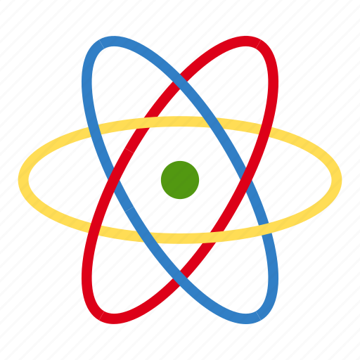 atom, atomic, chemistry, molecule, nuclear, physics, science icon