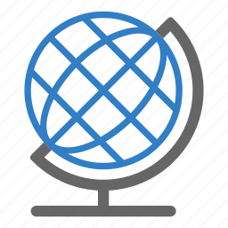earth, education, educative, globe, map, planet, world icon