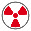 danger, energy, nuclear, radiation, electric, light, science
