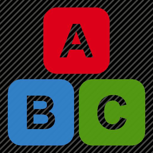 abc, baby, education, kid, language, toy, toys icon