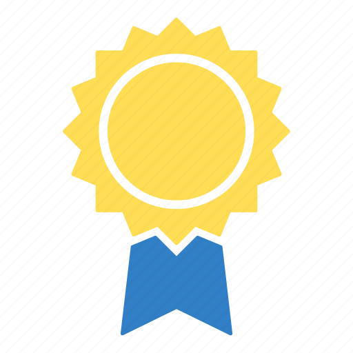 award, education, first place, prize badge, trophy, win, winner icon