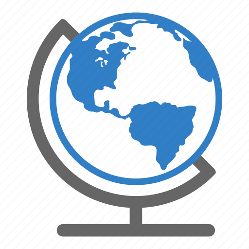 earth, earth globe, education, educative, globe, map icon
