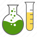 chemistry, experiment, lab, laboratory, science, test tube icon