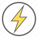 electricity, flash, electric, lightning, thunder, energy, nuclear power