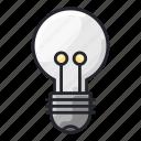 concept, education, idea, lamp, school, think icon