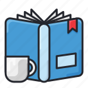 book, education, learn, read, reading, school, studying icon