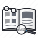 book, education, learn, read, reading, school, study icon