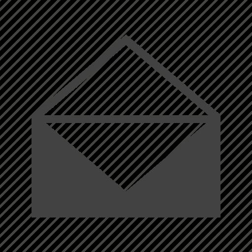envelope, letter, mail, message, paper, post, send icon
