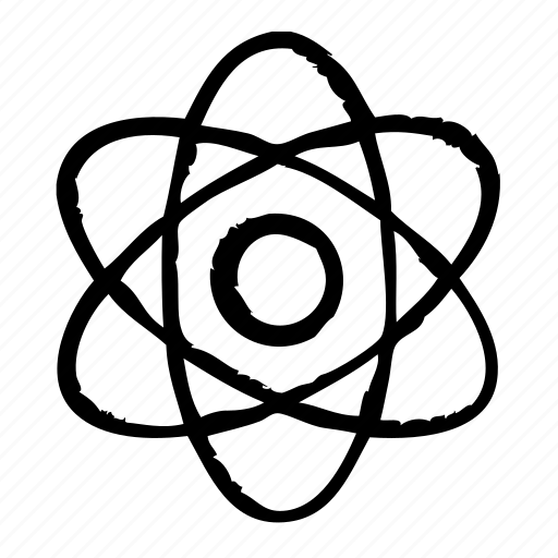 atom, education, physics, school, science icon