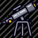 spyglass, telescope, vision