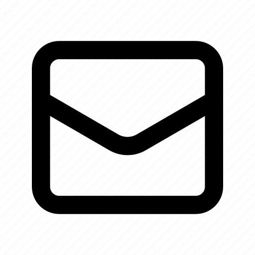 contact, email, envelope, letter, mail, message, subscribe icon