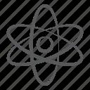 atom, atomic model, atomic orbitals, atomic structure, science symbol