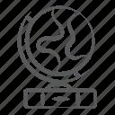 earth, global network, planet, sphere, world map, worldwide network icon