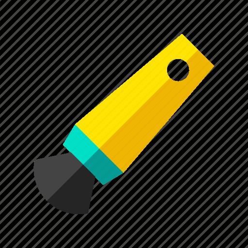 brush, education, paint, painting, school, stationary, tool icon