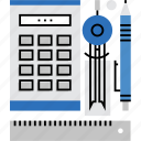 equipment, math, measure, measurement, school, stationery, tools icon