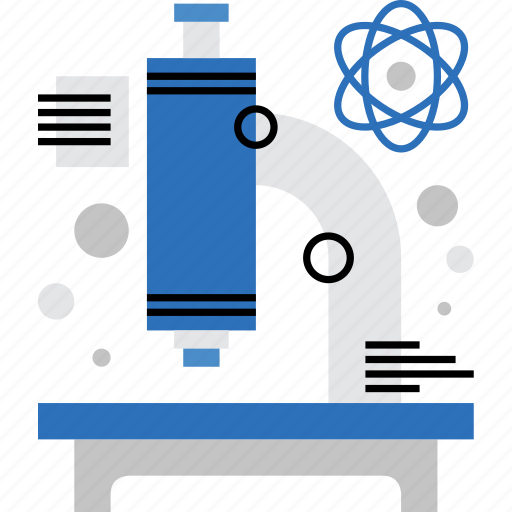 analysis, exploration, lab, laboratory, microscope, research, test icon