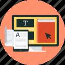 learn, book, online, teach, education, tutorial, e-book
