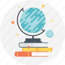 astronomy, book, discovery, earth, globe, planet, space icon