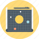 astrology, design, discover, experiment, map, mock up, wireframe icon