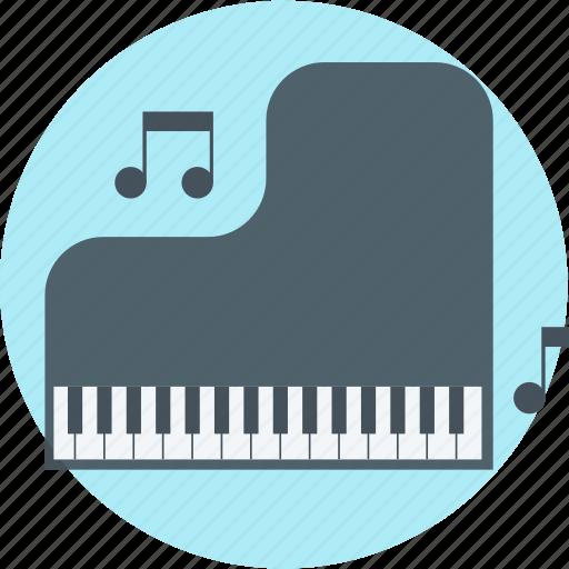 education, lesson, music, piano, school icon