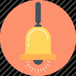 bell, break, lesson, lunch break icon