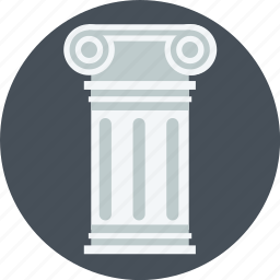 historical, history, pillar, post icon