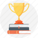 award, book, learn, school, win icon