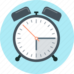 clock, time, wake up icon