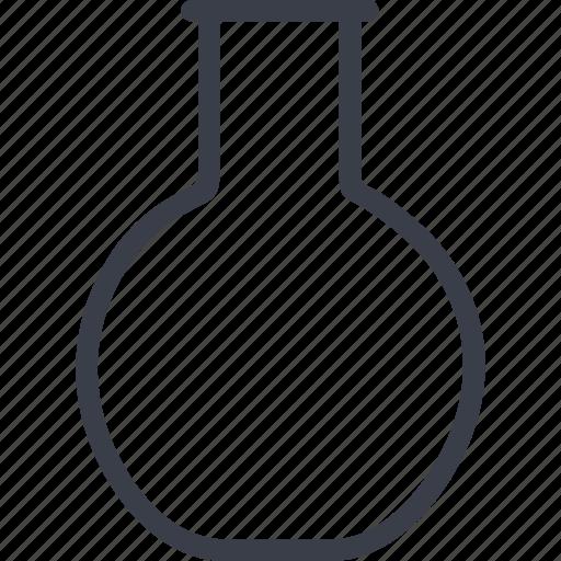 education, flask, learning, school icon