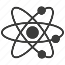 atom, chemistry, molecule, science icon