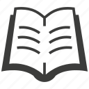 book, books, education, learning, library, reading, study icon