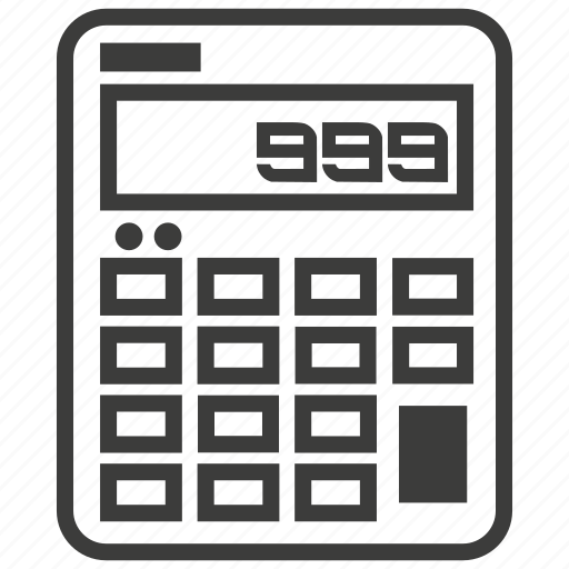 accounting, calculation, calculator icon