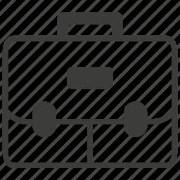 bag, briefcase, business, case, cash, financial, portfolio icon