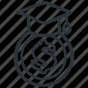 education, scholarship, fee, tuition icon