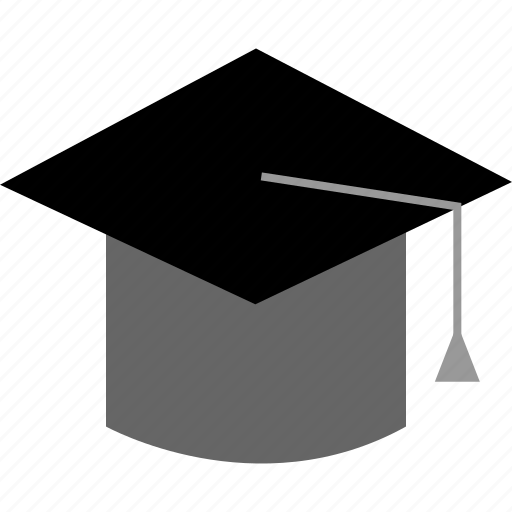 education, red, v3 icon
