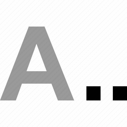 good, grade, letter, word icon